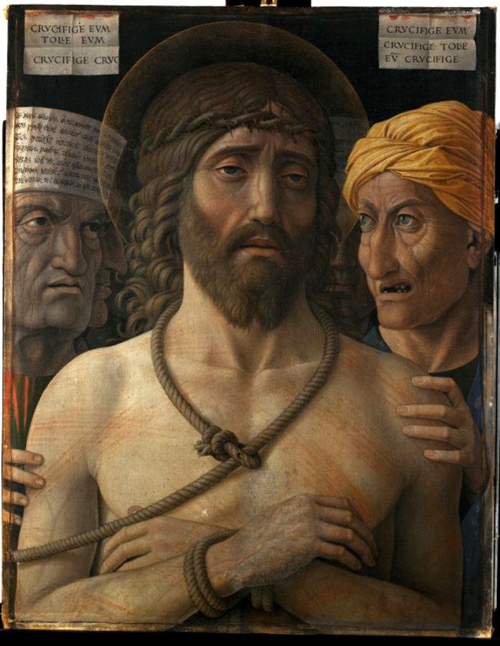 Andrea Mantegna: Ecce homo (1500-1502), Musée Jacquemart-André, Parigi