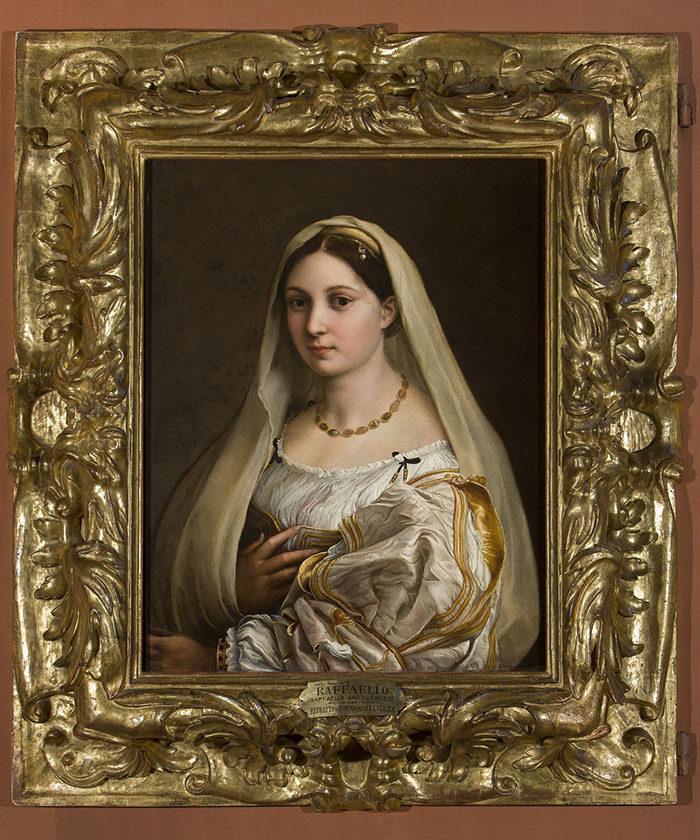 La Velata, Raphael, Uffizi