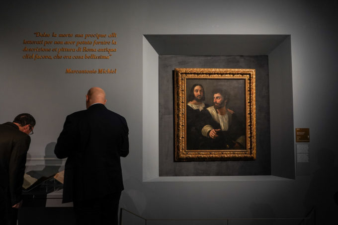 raphael rome exhibition