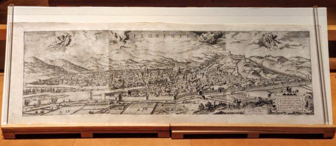 Hieronymus Cock view of Florence, Uffizi