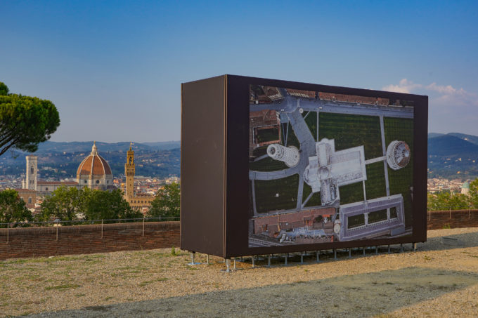 Massimo Sestini at Forte Belvedere, Florence