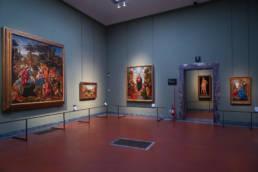 Filippino Lippi and Piero di Cosimo room, Uffizi