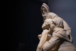 Michelangelo's Pietà after restoration